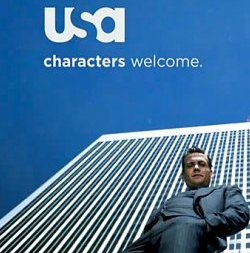 USA Network Characters Welcome