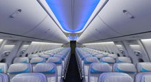 Beoing 737 Interior
