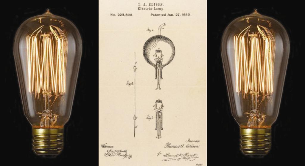 Edison Light Bulb Still Burning
