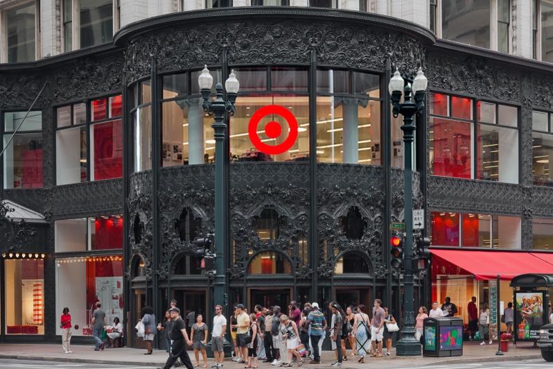 Target at former Carson PirieScott Store