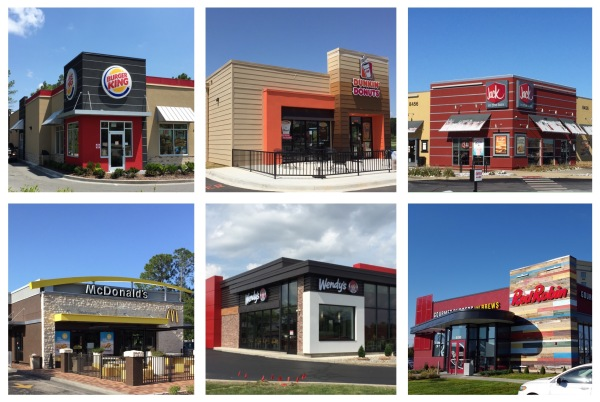 Fast Food Strip Architecture